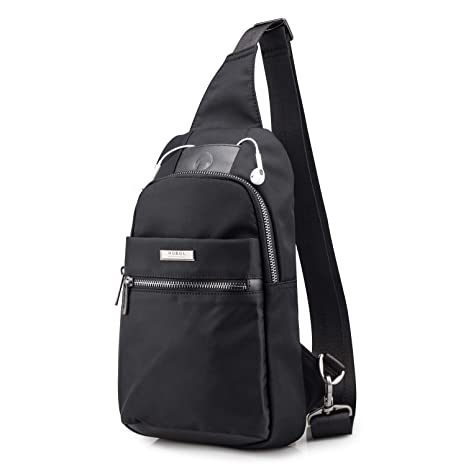 d9f2f71a00 SPAHER iPad Sportivo Borse a Spalla Zaino Uomo Monospalla Uomo Marsupio Zainetto  Borsa Messenger Bag Monospalla