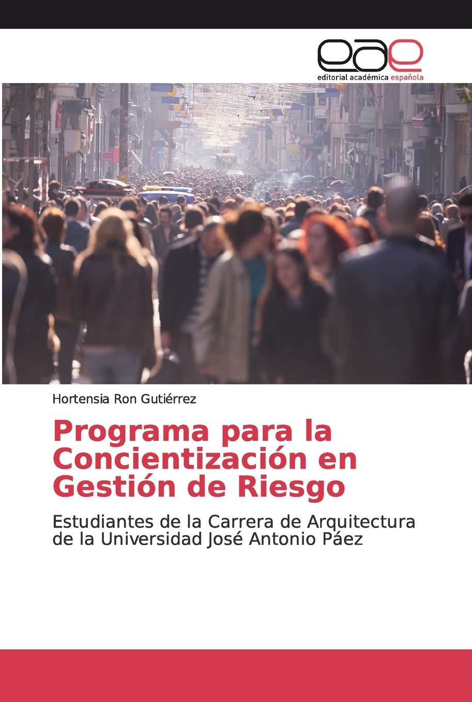 Programa para la Concientización en Gestión de Riesgo ...