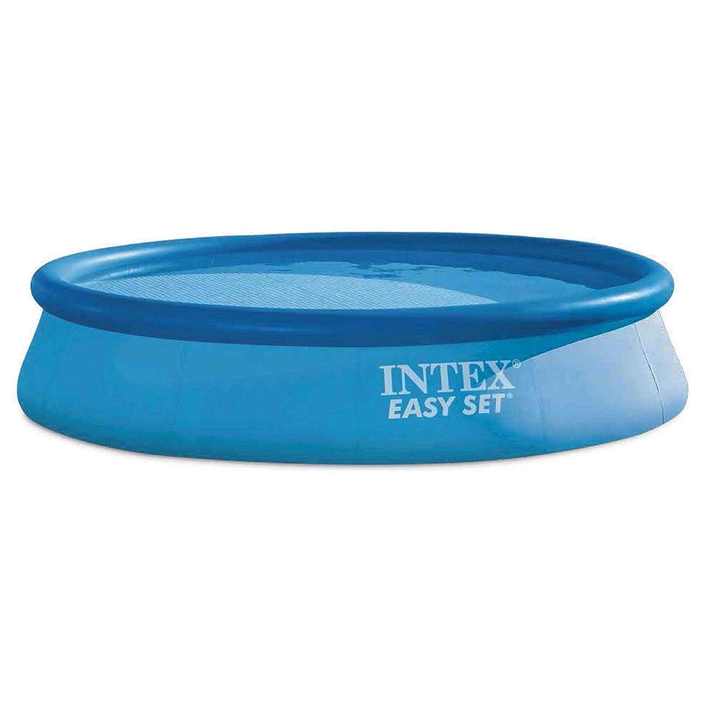 Intex 28142NP - Piscina hinchable Easy Set 396 x 84 cm, 7.290 litros: Amazon.es: Jardín