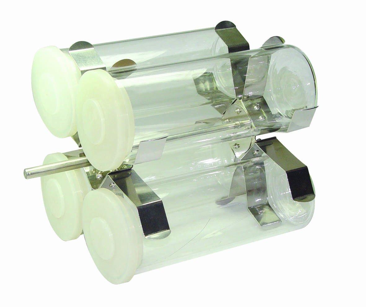 FinePCR 12RT-4 Rotisseries for Rotisserie Rotator Only, 80mm Diameter x 200mm Length, Holds 4