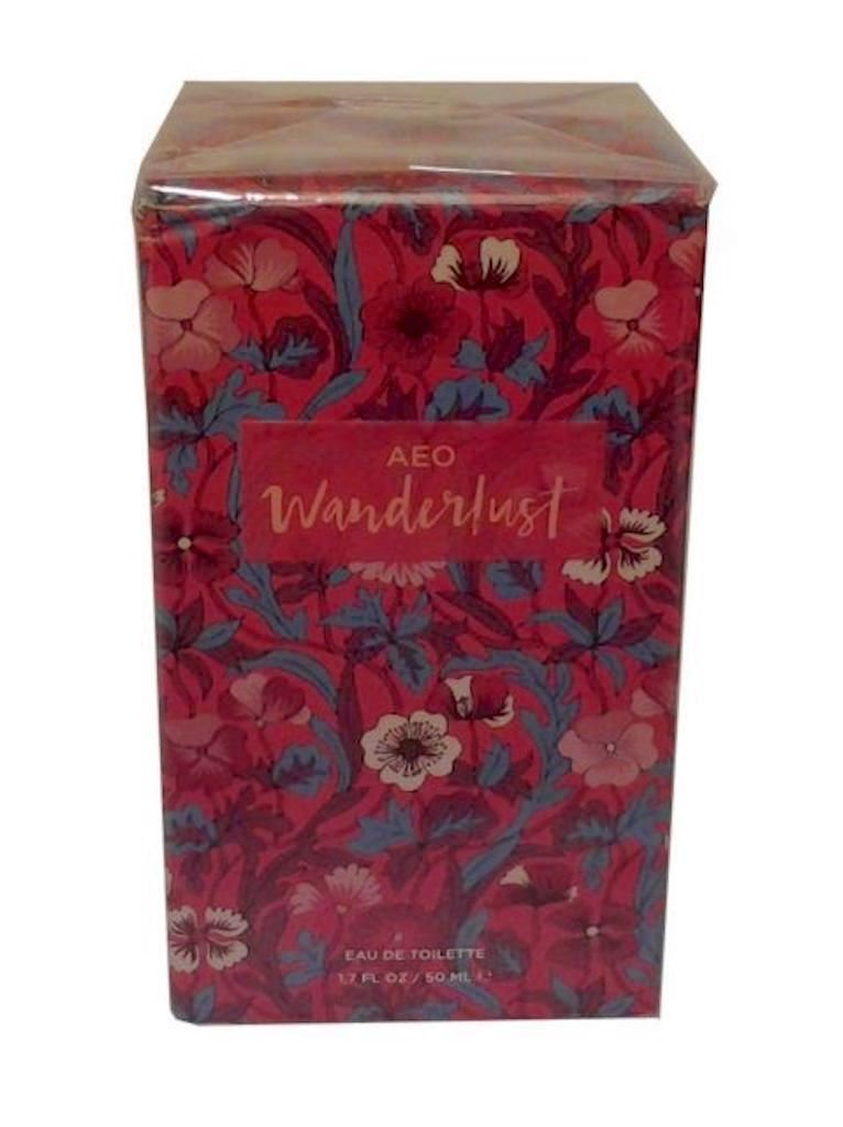 American Eagle Outfiters AEO Wanderlust 1.7 Ounce Perfume Eau De Toilette Spray For Women 1.7 Ounce Full Size