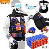 Best Guns For Kids - Tactical Vest Kit for Nerf Guns for boys Review