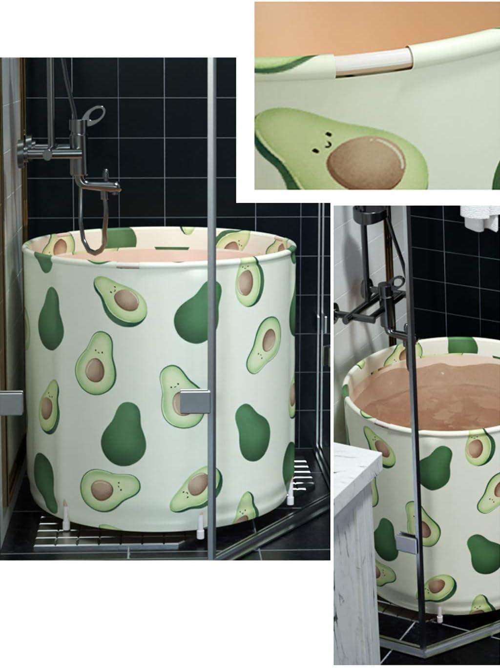 Pliable Gratuit Support Permanent Baignoire Gratuite Gonflable Ronde Barrel /Épais De M/énage en Plastique Tremper Bath Barrel Isolation Portable Baignoire