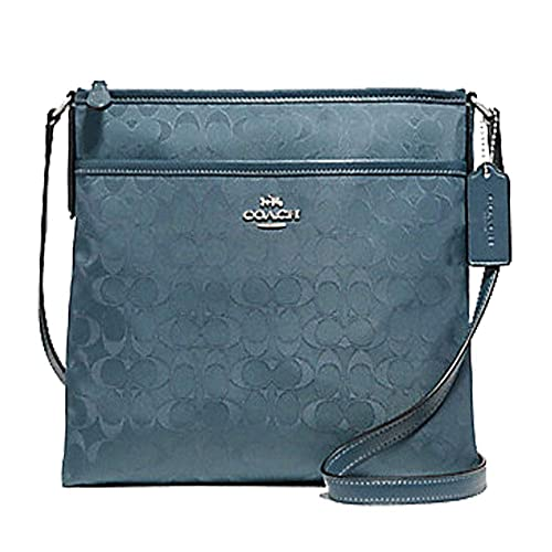 84f679db Coach Outlined Zip File Crossbody