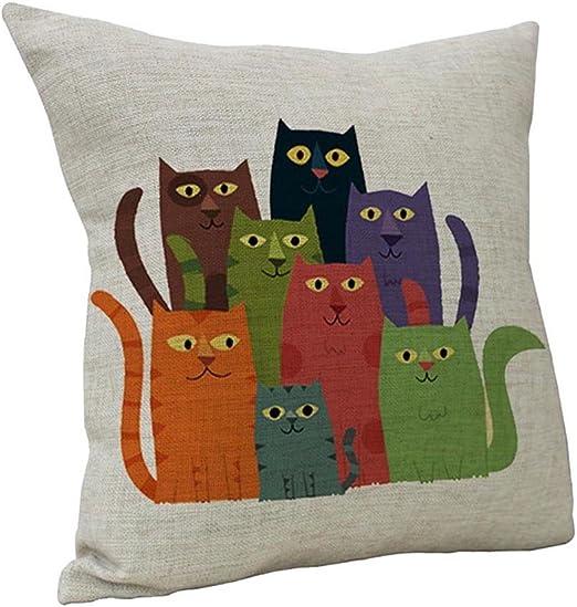 Creative people Chair Decor Pillowcase Throw Pillow Case Waist Cushion Covers