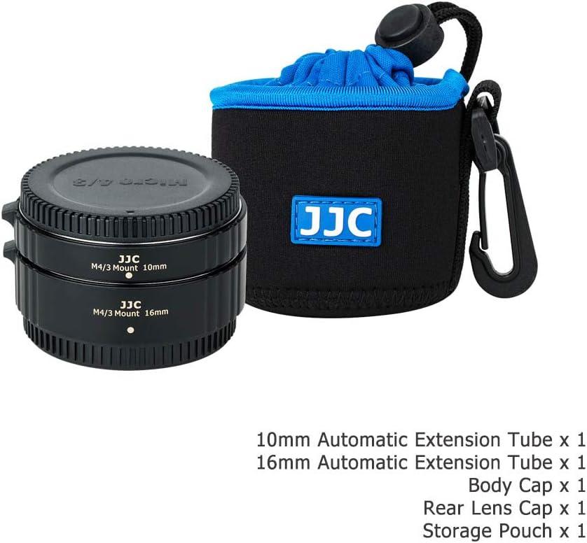 JJC Autofokus AF Zwischenringe 10MM 16MM f/ür Olympus M4//3 Mount E-M5 III E-M1X E-M10 III E-PL9 E-PL8 E-PL7 Panasonic G95 G90 G9 GH5 GX9 GX85 DSLR Kameras Objektiv