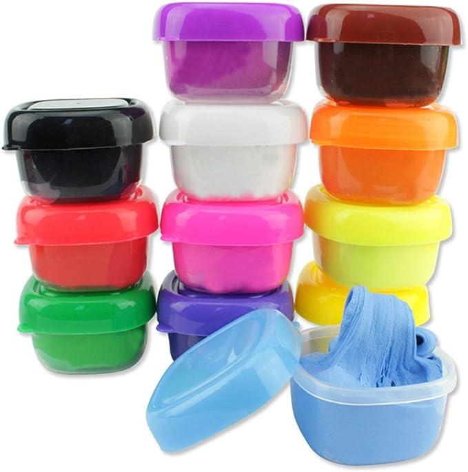 Covermason Floam Slime Aliviar el Estrés Lodo Juguetes para Adultos y Niño (12 Cajas / 1 conjunto): Amazon.es: Juguetes y juegos