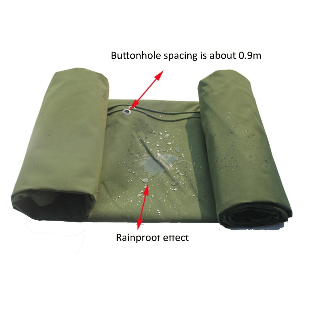 DNSJB Tarpaulin Multipurpose Wagon Tent Cover Outdoor Sunshade Waterproof (Size : 56m) by SJB (Image #3)
