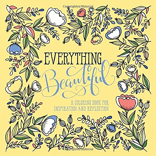 Everything Beautiful Coloring Reflection Inspiration product image