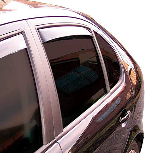Climair Windabweiser Hinten Cls004m2028d Farbe Dunkel Auto