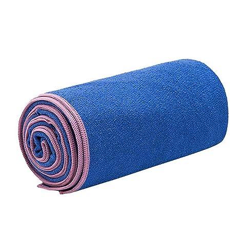 LUFA Yoga Microfibra Toalla para absorción de Humedad de la Cubierta Estera de Yoga para el