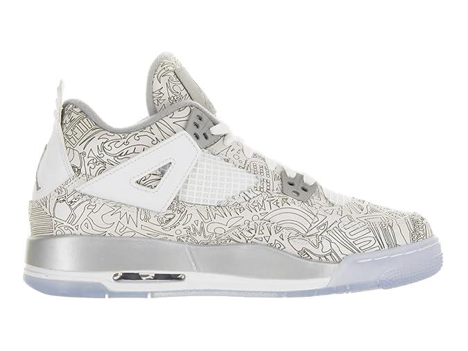 902488b60b6 Amazon.com | Air Jordan 4 Retro Laser BG - 705334 105 | Basketball