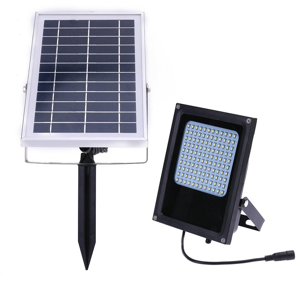 Powlance 15 W120led Solarmodul Flutlicht Nacht Sensor Outdoor Garten Lampe
