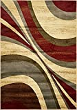 Modern Contemporary All Décor Floor Rugs Beige 4' x 6' Camden Area Rug Living Room Bedroom Carpet