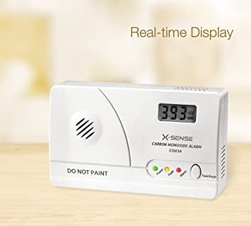 X-Sense Detector de monóxido de carbono (CO) portátil Alarma de monóxido de carbono con pantalla digital, CO03 A: Amazon.es: Bricolaje y herramientas