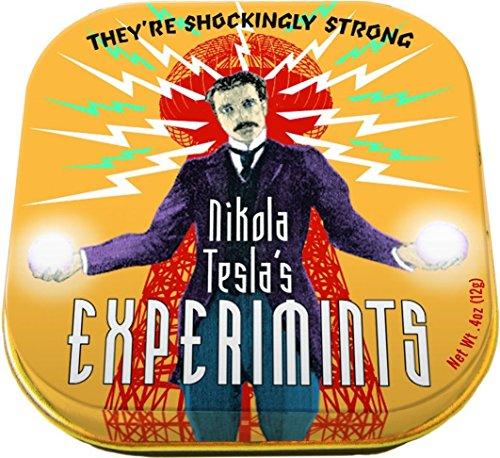 Nikola Tesla Experimints - 1 Tin of Mints