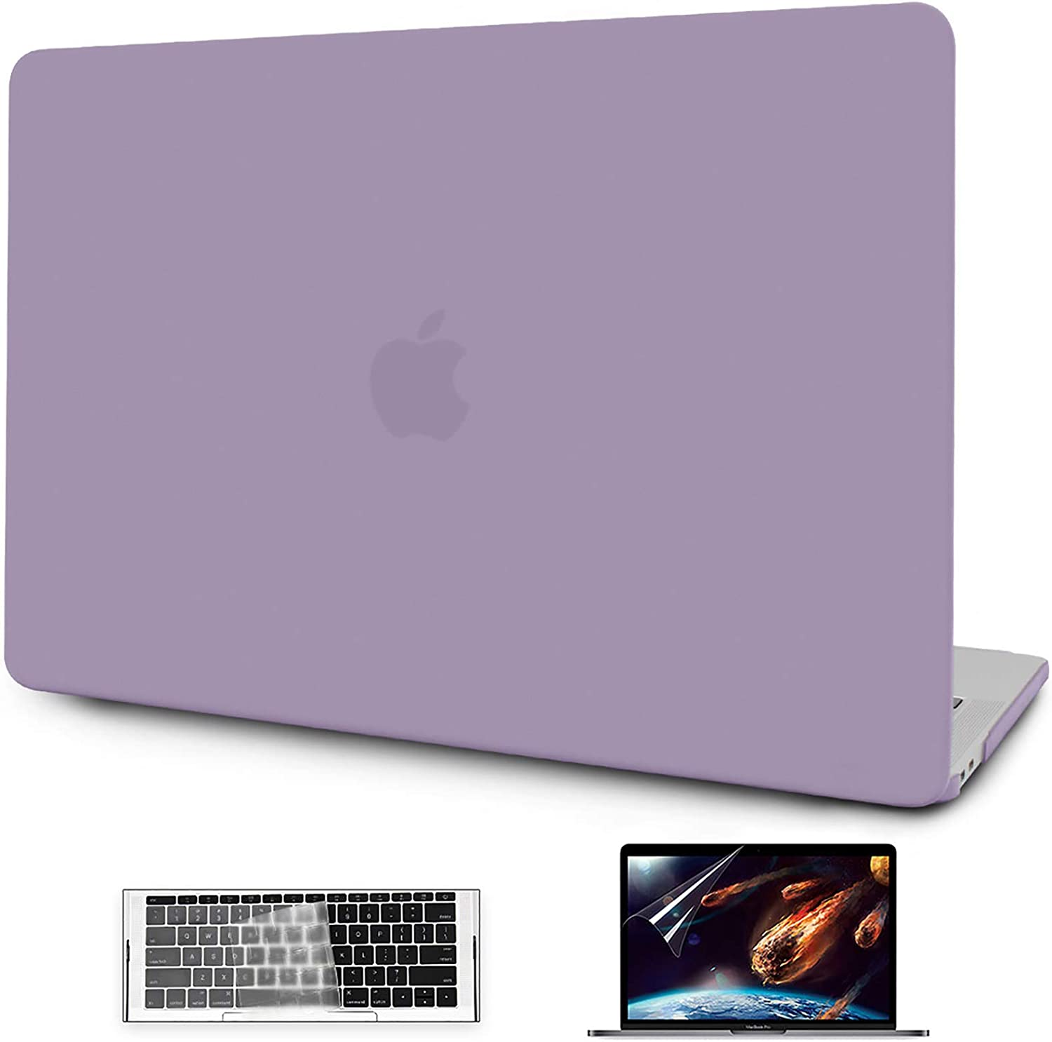 OneGET MacBook Pro 13 Inch Case with Touch Bar Laptop Case MacBook Pro 13 Inch 2016 2017 2018 2019 Release A1989 A1706 A1708 A2159 Minimalist Thin Matte PP Hard Shell Cover for Pro 13 (Taro Purple)