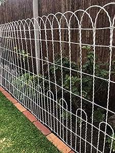 Amazon Com A Rustic Garden Decorative Scallop Top Wire