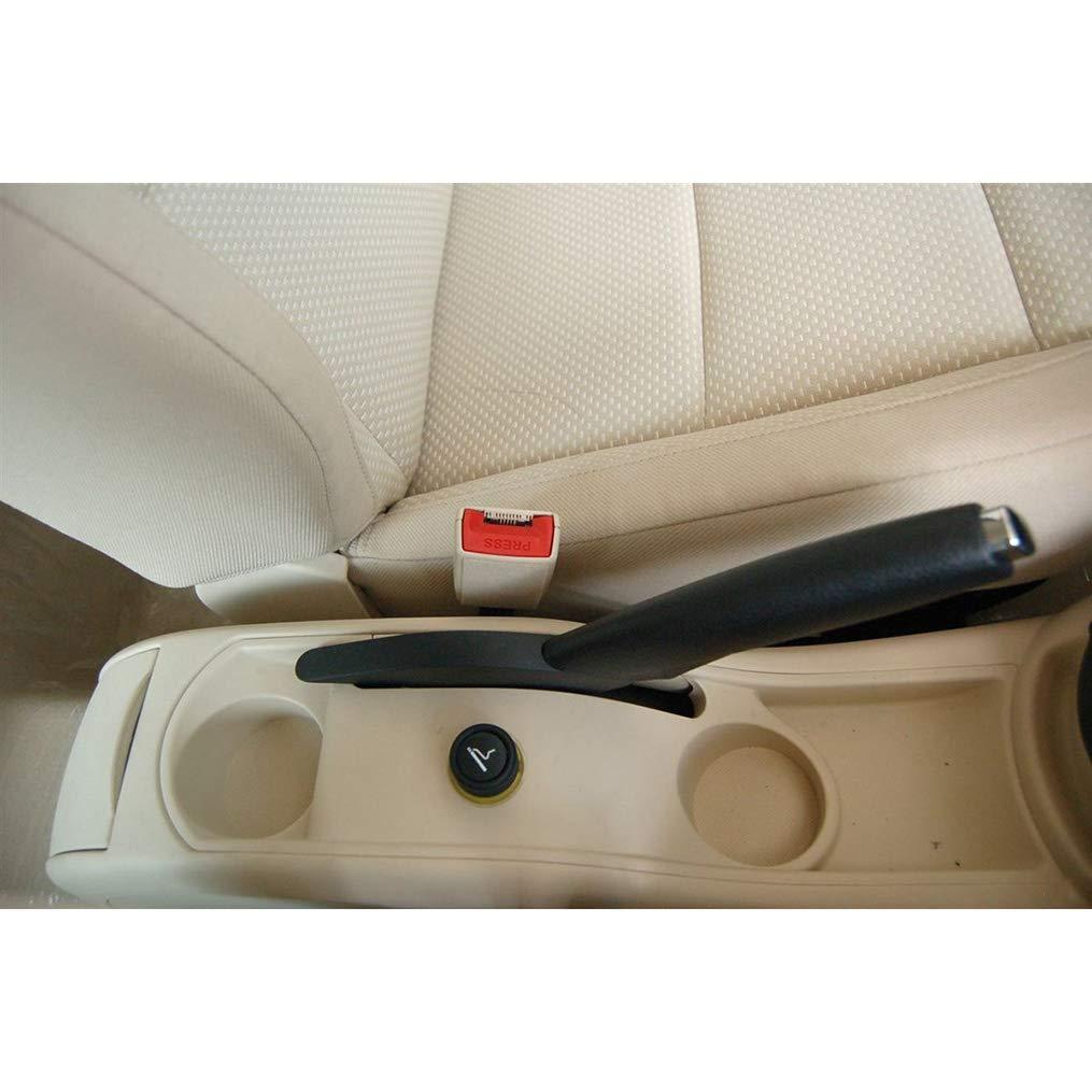 Bracciolo Auto Centrale per C4 2008-2011 Console Centrale Automobile Appoggio in Pelle con portacenere /& portabicchieri Nero