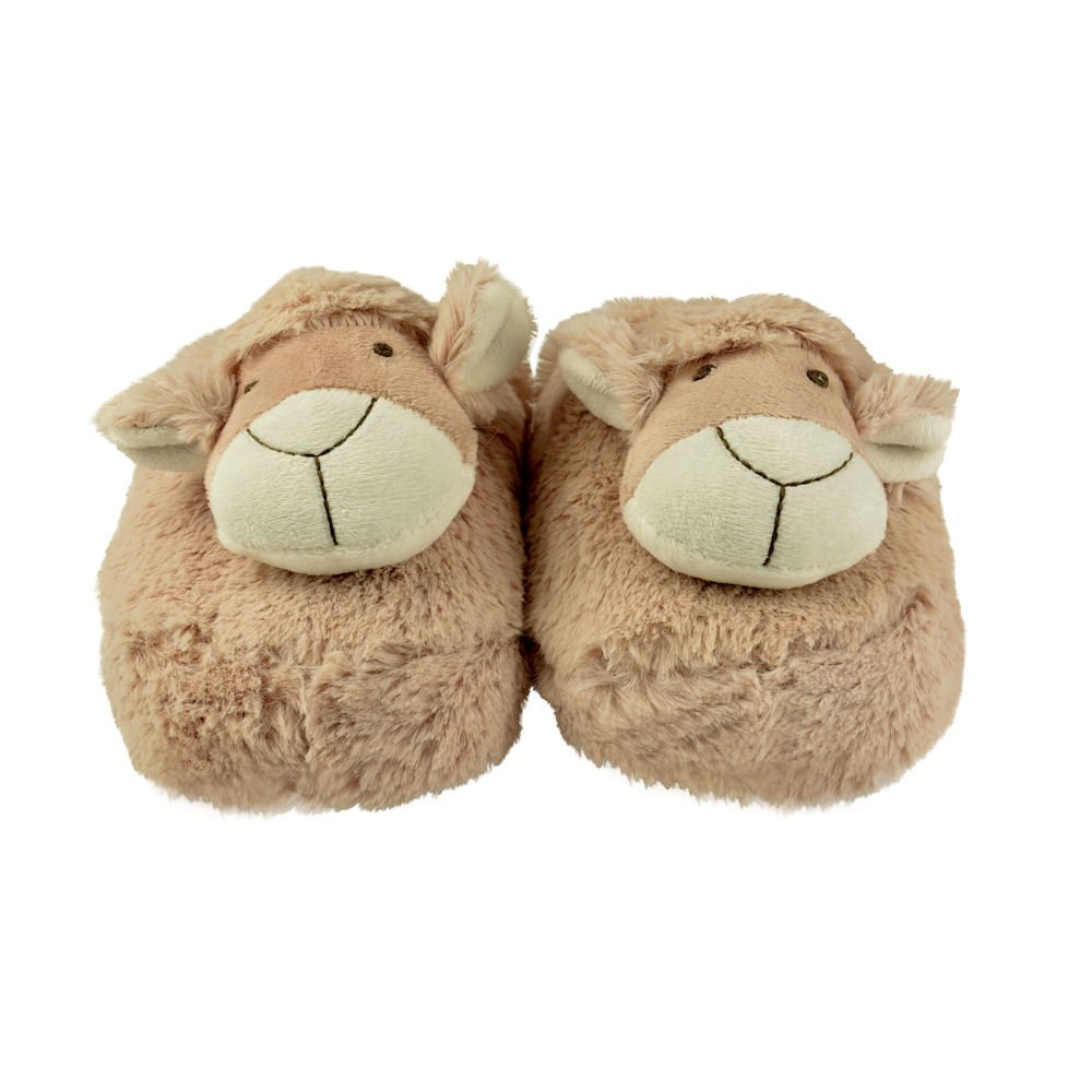 UK 3-7 Sheep Zhu-Zhu Furry Animal Slippers One size
