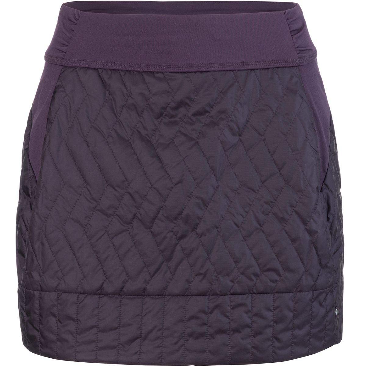 Mountain Hardwear Women's Trekkin Insulated Mini Skirt, Darkest Dawn, Medium by Mountain Hardwear