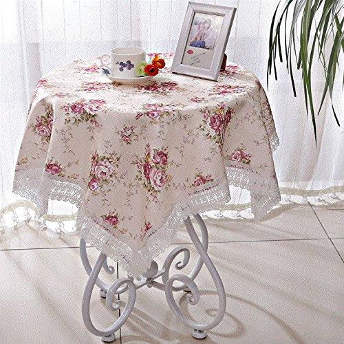 ZnzbztPark pequeñas mesas manteles, mesa de café redondo cuadrado ...