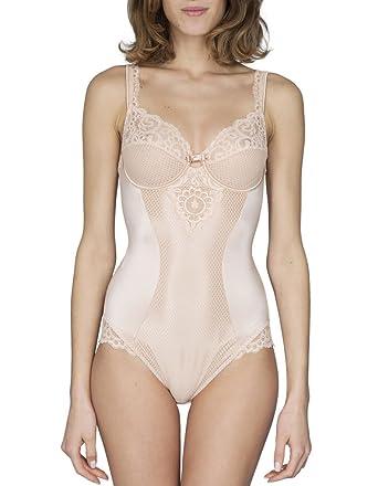 f70c2c0e2 Maison Lejaby 13853-247 Women s Gaby Pink with Lace Body 13853-247 ...