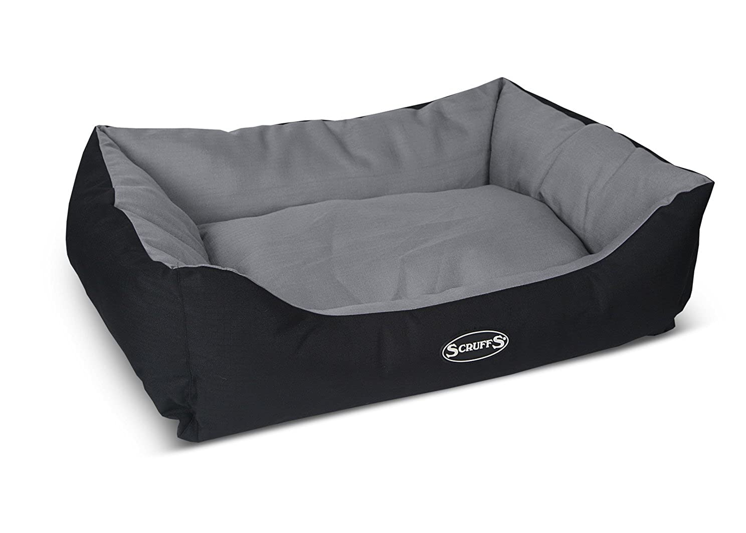 Scruffs Expedition Box Dog Bed Graphite Large