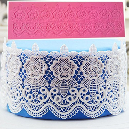 money-coming-shop-silicone-cake-lace-mat-mold-fondant-decorating-wedding-flower-embossing-mould