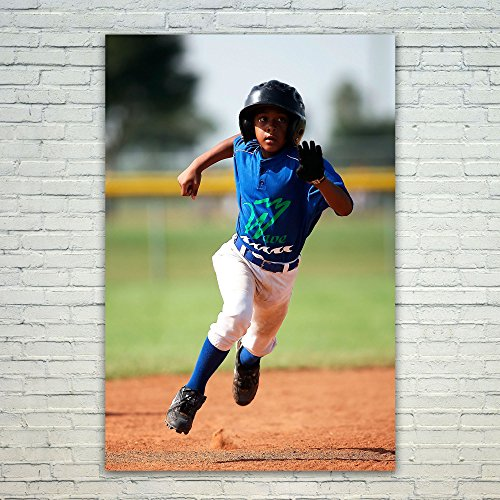 Westlake Art Poster Print Wall Art - Baseball Player - Modern Picture Photography Home Decor Office Birthday Gift - Unframed - 5x7in