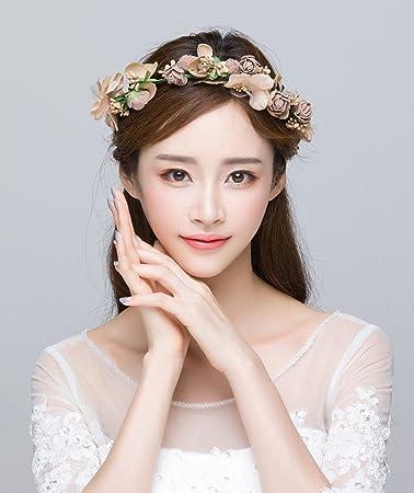 Girlande, koreanische Stil Hochzeit Braut Kopfschmuck Brautkleid ...