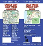 Lake Tahoe / Carson City / Minden CA Street Map
