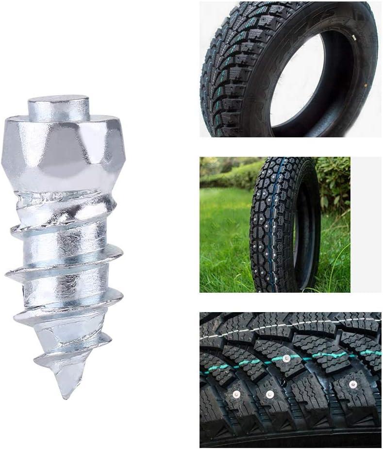 vis antid/érapantes de pneu pour tracteurs de chargeurs de moto ATV SUV 100 pi/èces Goujons de pneu de neige de 15 mm vis de goujon de pneu de roue