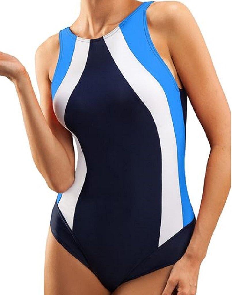 Costume da Bagno Intero Sportivo da Donna Ideale Per Endurance