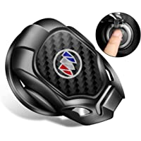 Car Engine Start Stop Button Cover Push Start Button Cover Anti-Scratch Car Engine Decoration Cover for Buick…