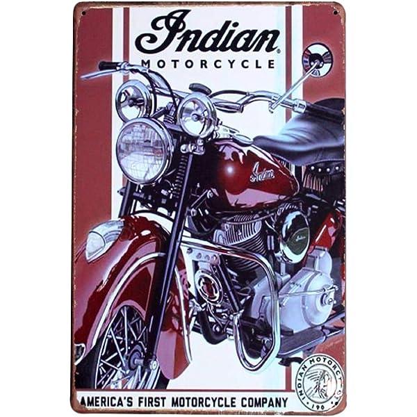 Chytaii.Tin Sign 1934 Cartel de Metal Vintage Caliente Metal ...
