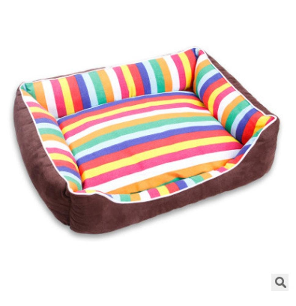 B 504015cmWeiwei Dog bed Cloth Pet Litter Dog bed dog mat breathable removable washable