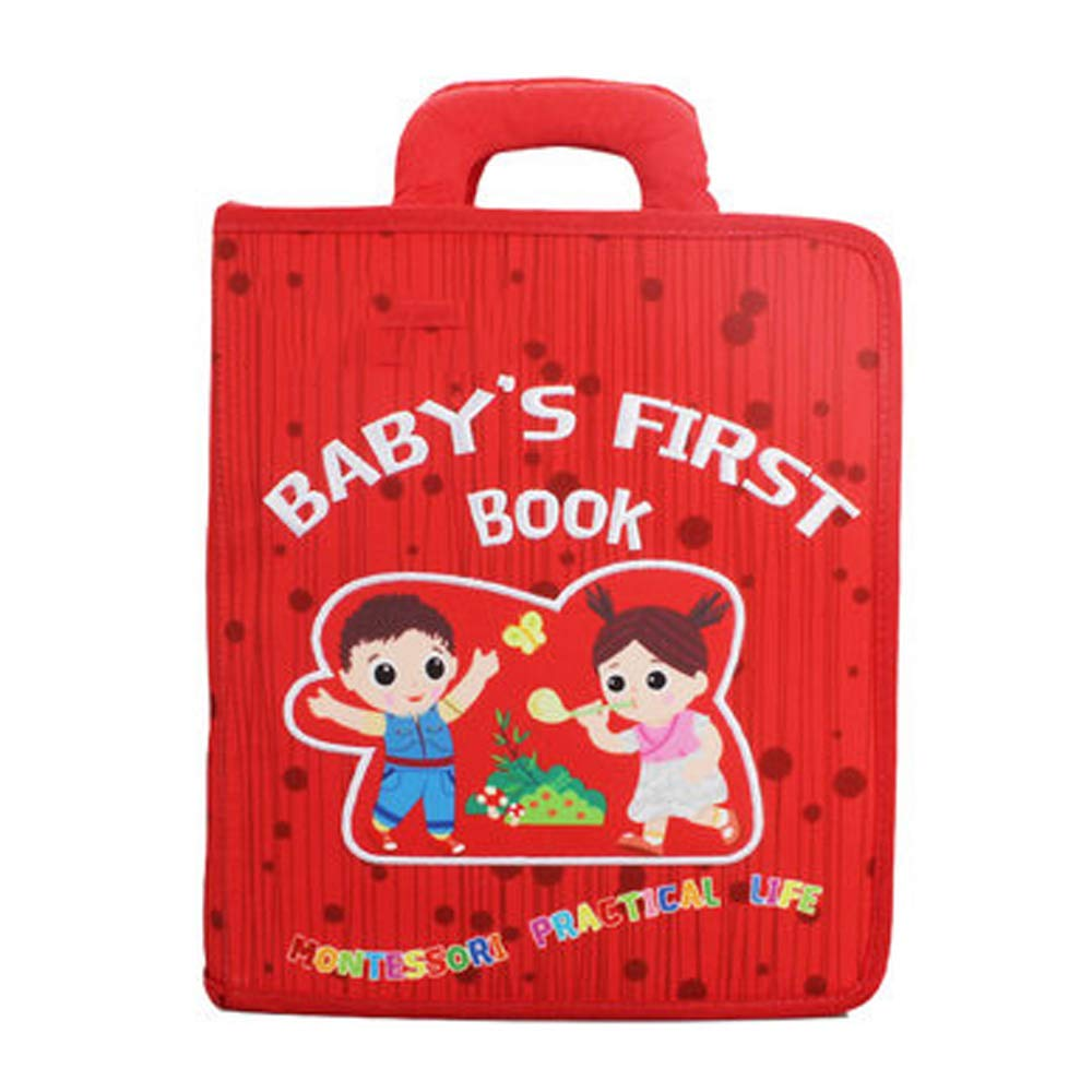 Nwn Early childhood baby cloth book baby tearing bad puzzle book njsdih