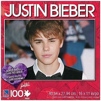 Amazoncom Justin Bieber 100 Piece Jigsaw Puzzle Justin with