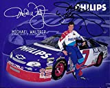 Signed Waltrip, Michael 8x10 Promo autographed