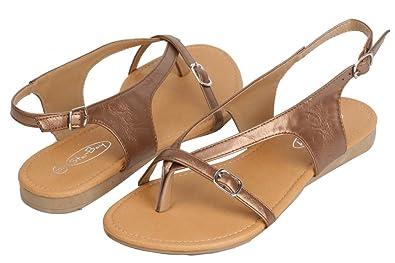 ffc53b990eae Starbay Womens Gladiator Sandal Shoes Bronze-5
