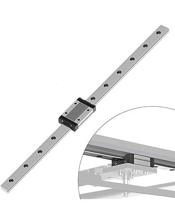 7mm Miniature Square Linear Motion rail with 2 trucks L600mm