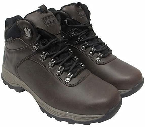 Khombu Men/'s Waterproof Leather Hiking Boots