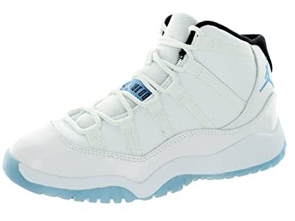 7ee43624a074 Image Unavailable. Image not available for. Color  Jordan Nike Kids 11  Retro Bp White Legend ...