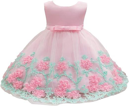 Amazon.com: Vestido de princesa de 1 a 3 años de edad ...