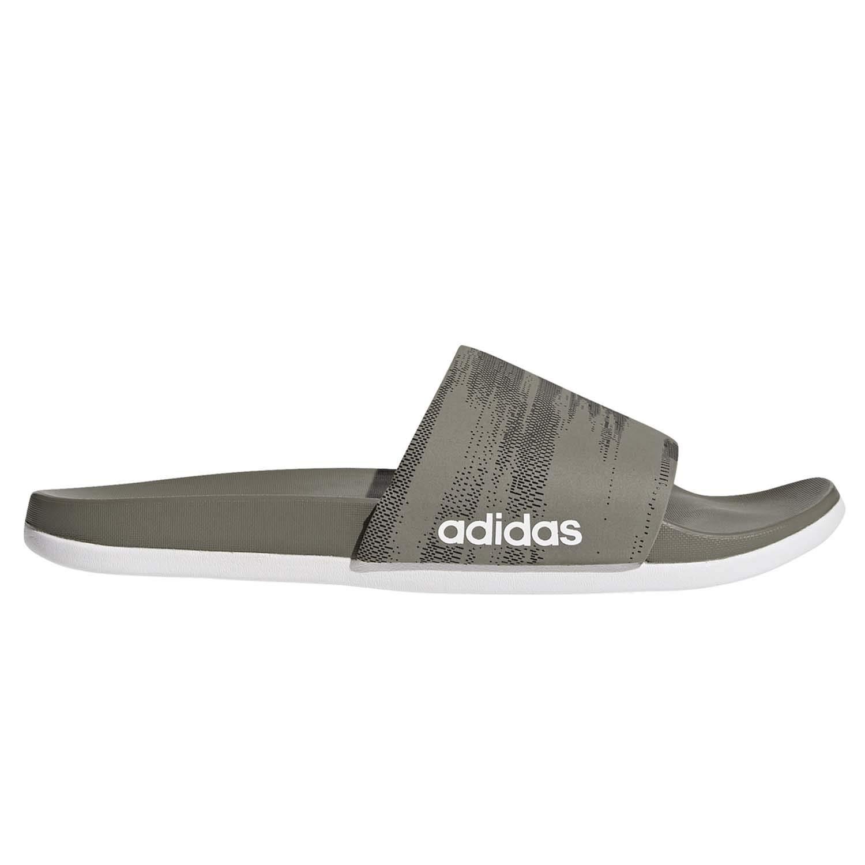 adidas Performance Men's Adilette CF+ Link GR Slide Sandal, Trace Cargo/core Black/Trace Cargo, 10 M US