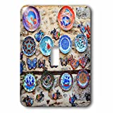3dRose Danita Delimont - Markets - Turkey, Antalya. Ceramics and handicrafts. - Light Switch Covers - single toggle switch (lsp_277007_1)