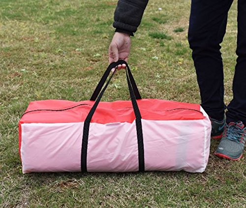 K&A Company Waterproof 10 Person Outdoor Double Layer Backpack Camping Tent Hiking New Red
