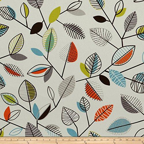 upholstery fabric orange - 9