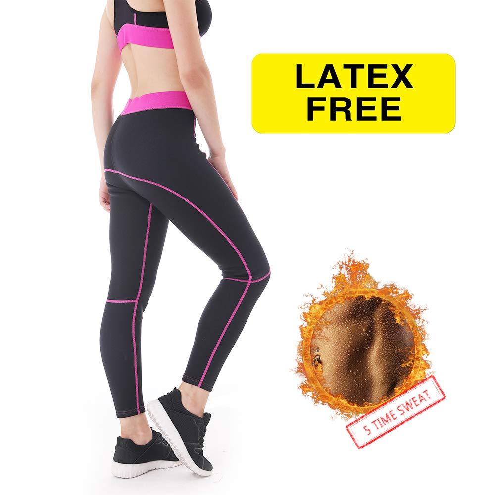 1f5684bd4dd Amazon.com   L Sports Neoprene Sauna Pants Women - Neoprene Weight Loss  Thermo Shapers